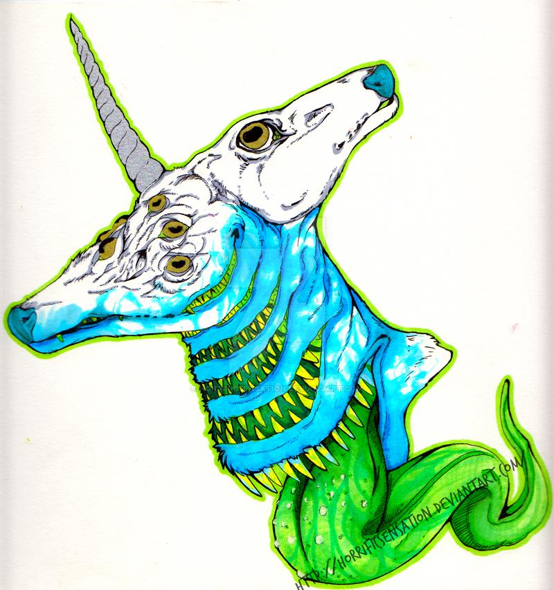 Mutated Goat Demon by HorrificSensation