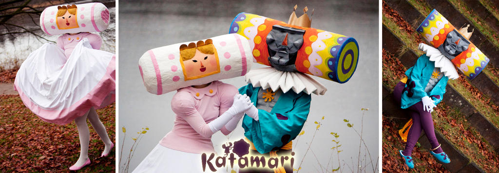 We love katamari - we're a team by Gwan-chan