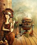 Cinderella. Story - Steampunk2