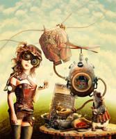 Cinderella. Story - Steampunk3 by LLen29
