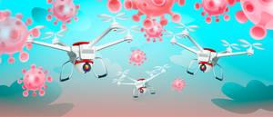 Coronaviruses vs Drones