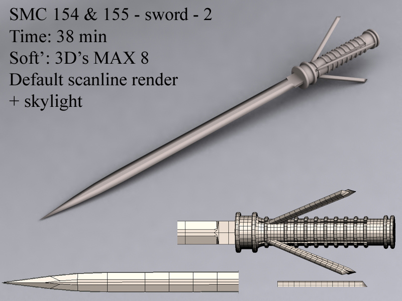 Smc Sword 2 Blades Sword By Kerreth On Deviantart