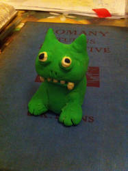 Little fimo monster