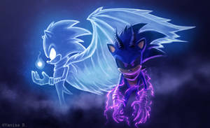 Light/Dark Eco Boom Sonic, Jak and Daxter Edition by YanisaB