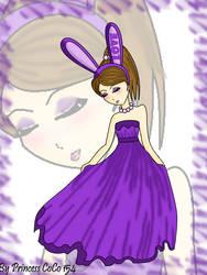 the purple Bunny by Princess-CoCo-154
