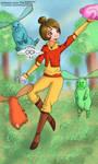 Lok - Jinora and the spirits by Princess-CoCo-154
