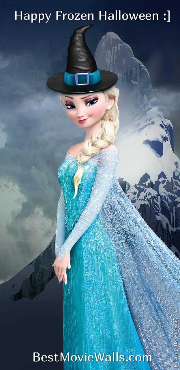 Frozen Halloween With Elsa By Bestmoviewalls On Deviantart