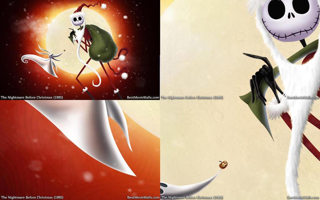 The-Nightmare-Before-Christmas xmas3 by BestMovieWalls