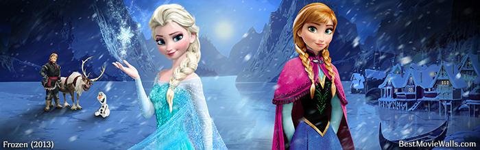 Frozen Dual Screen 05 Bestmoviewalls By BestMovieWalls