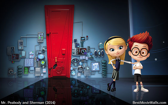 Mr Peabody And Sherman Penny Kiss Mr peabody and sherman 16