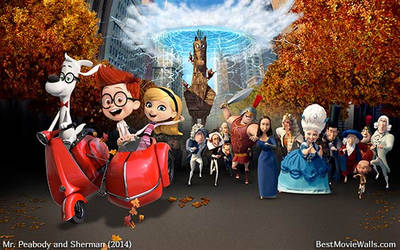 Mr Peabody and Sherman 19 BestMovieWalls