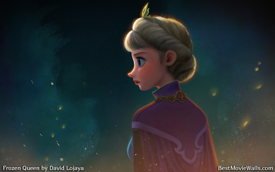 Frozen Queen by David Lojaya bestmoviewalls 00