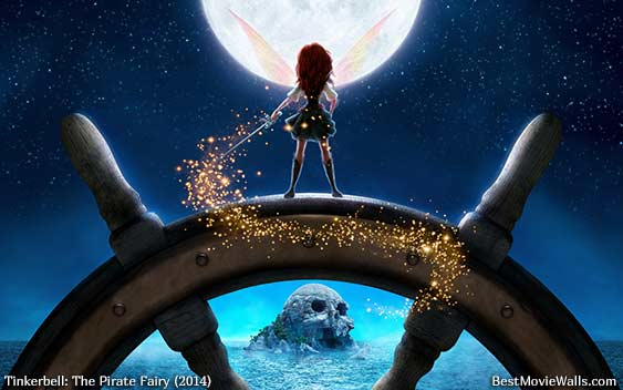 Tinkerbell And The Pirate Fairy 01 BestMovieWa By BestMovieWalls