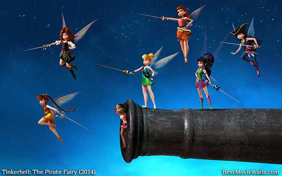 Tinkerbell And The Pirate Fairy 10 BestMovieWalls By