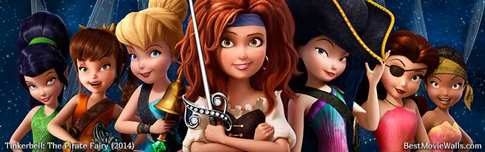 Tinkerbell And The Pirate Fairy BestMovieWalls By