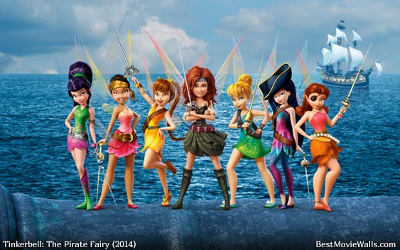 Tinkerbell And The Pirate Fairy 11 BestMovieWalls By