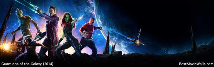 Guardians of the Galaxy 02 BestMovieWalls dual by BestMovieWalls