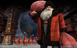 Rise of the Guardians Santa 03 bestmoviewalls by BestMovieWalls
