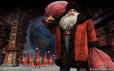 Rise of the Guardians Santa 03 bestmoviewalls