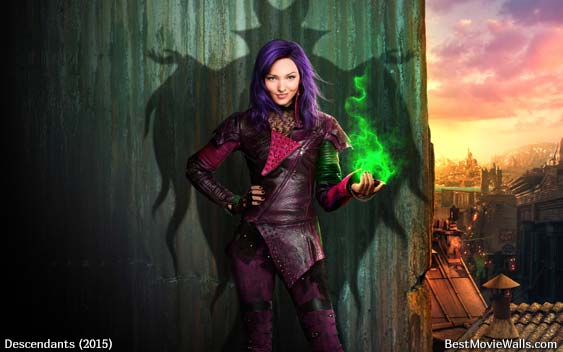 Disney Descendants 2015 Wallpapers By Bestmoviewalls On HD Wallpapers Download Free Images Wallpaper [1000image.com]