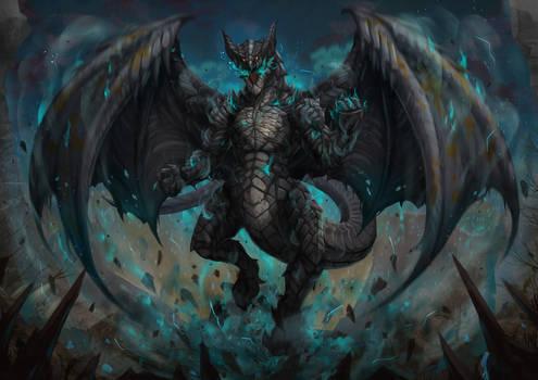 Poison gas dragon
