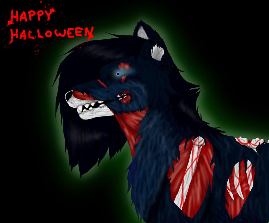 Happy halloween....... by BlueSkyWolf