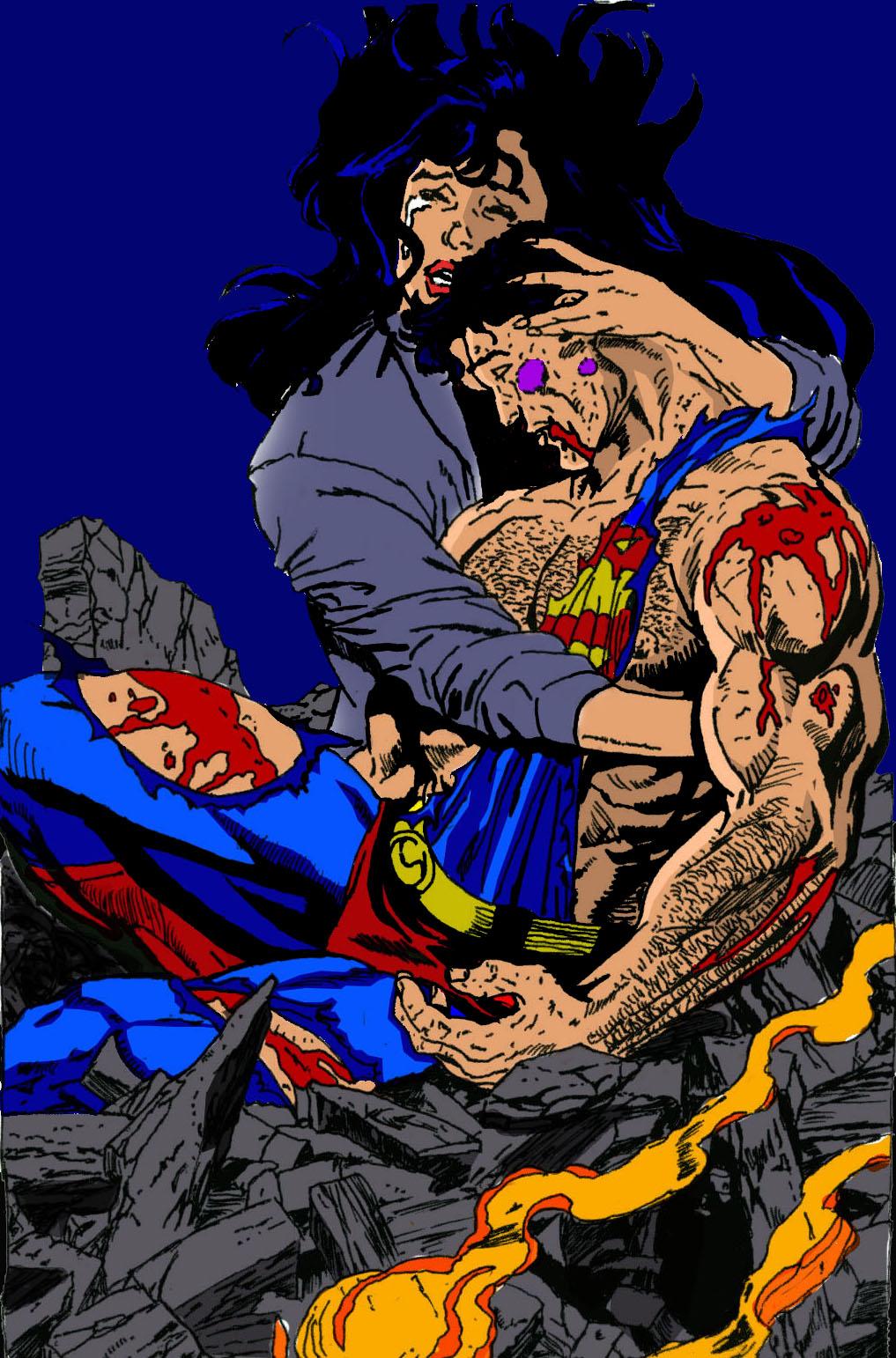 death of superman batman - photo #10