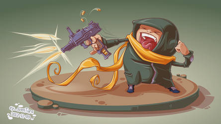 Automatik Pistole