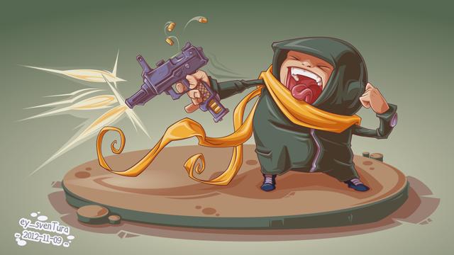 Automatik Pistole by Dillerkind