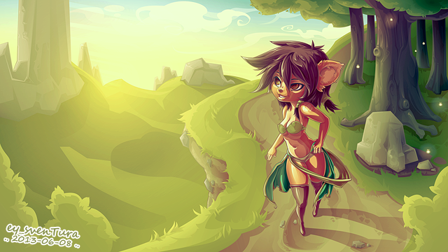 Forest Girl by Dillerkind
