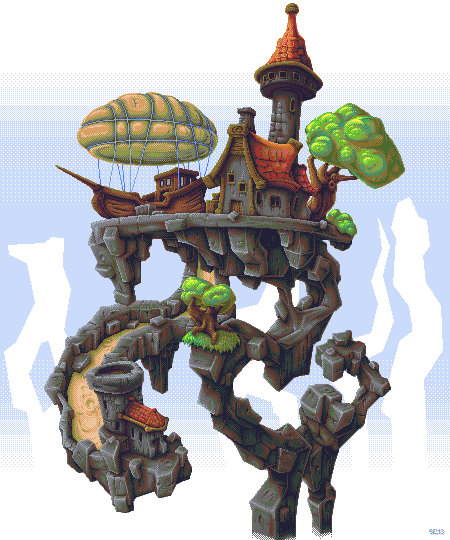 MountainResidence PIXEL by Dillerkind