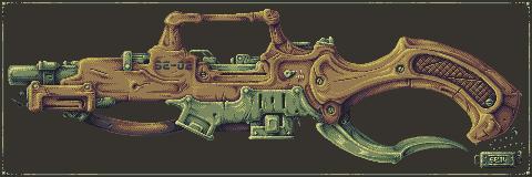 Gun 005 PIXEL by Dillerkind