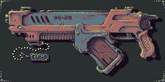 Gun 009 PIXEL by Dillerkind