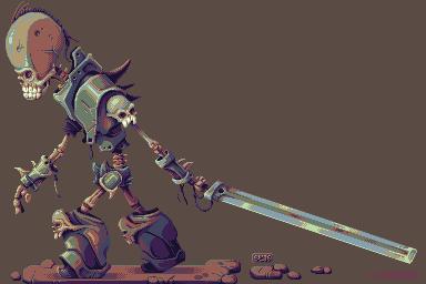 Bone Knight by Dillerkind