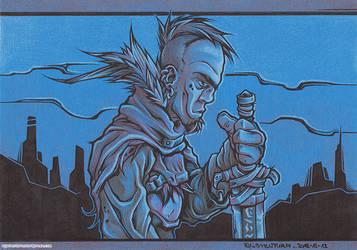 Blade Dude 3 by Dillerkind