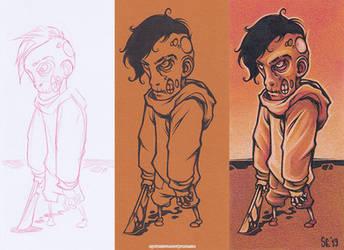 Zombie Boy by Dillerkind