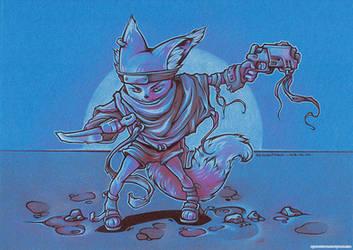 Fox Raider by Dillerkind