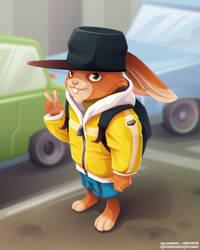 Rabbit Boy by Dillerkind