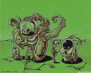 Bone Dudes - Tiny and Big