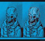 Hoodie Bone Dude 2 by Dillerkind