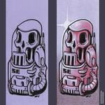 Bonehead 0031 by Dillerkind