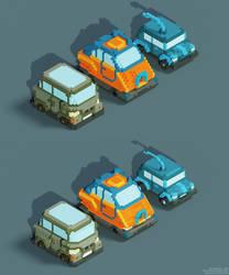Voxel Vehicles