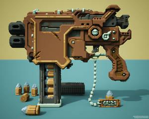 Gun 006 VOXEL