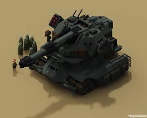 Tank 3 VOXEL