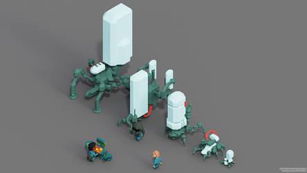 Robot 1-5 VOXEL