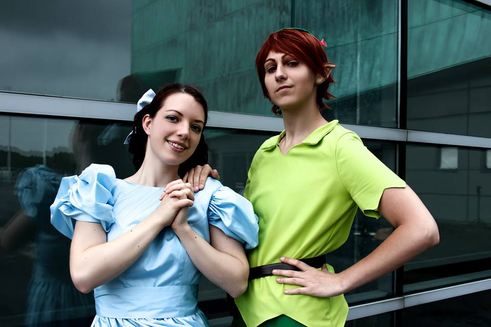 Peter Pan and Wendy by Mitsuko-Vicious
