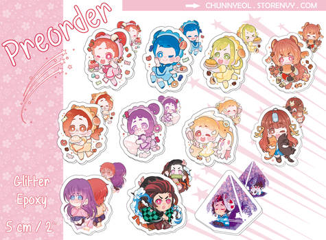 75fdda967 Clestival 2 1 Anime Charms Pre order! [Link in the description] by Chunnyeol