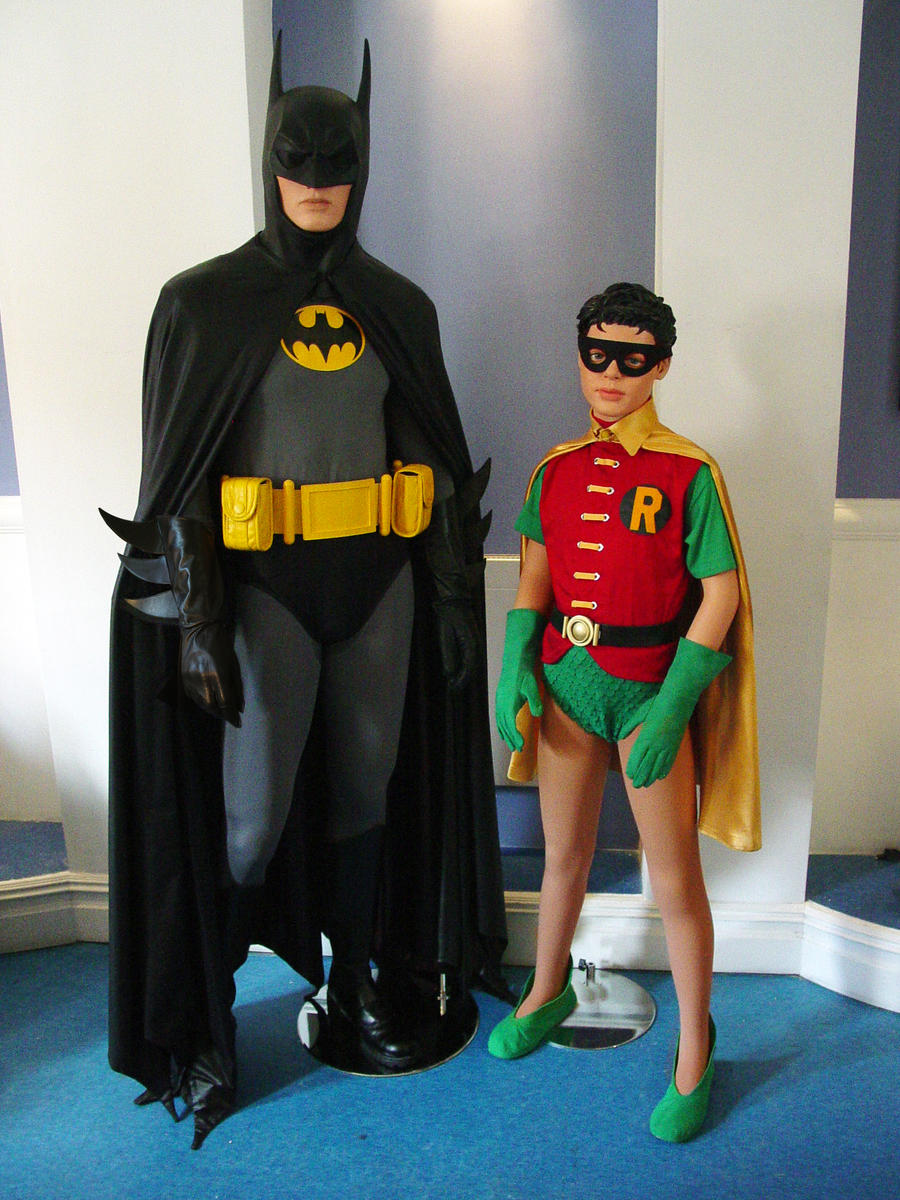 Batman and Robin Costumes for High School Play by ...