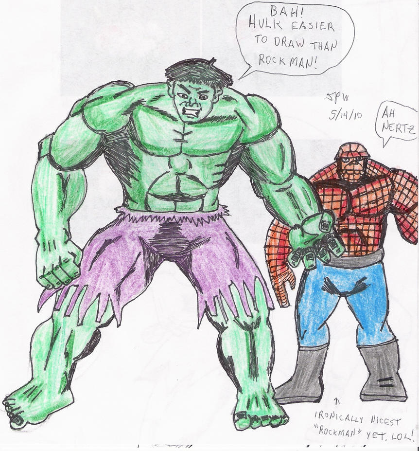 hulk am easy to draw by skaramine