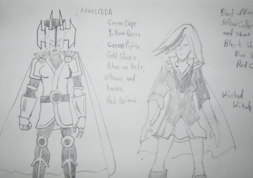 armagedda and wicked witch IMG 0334 by Skaramine